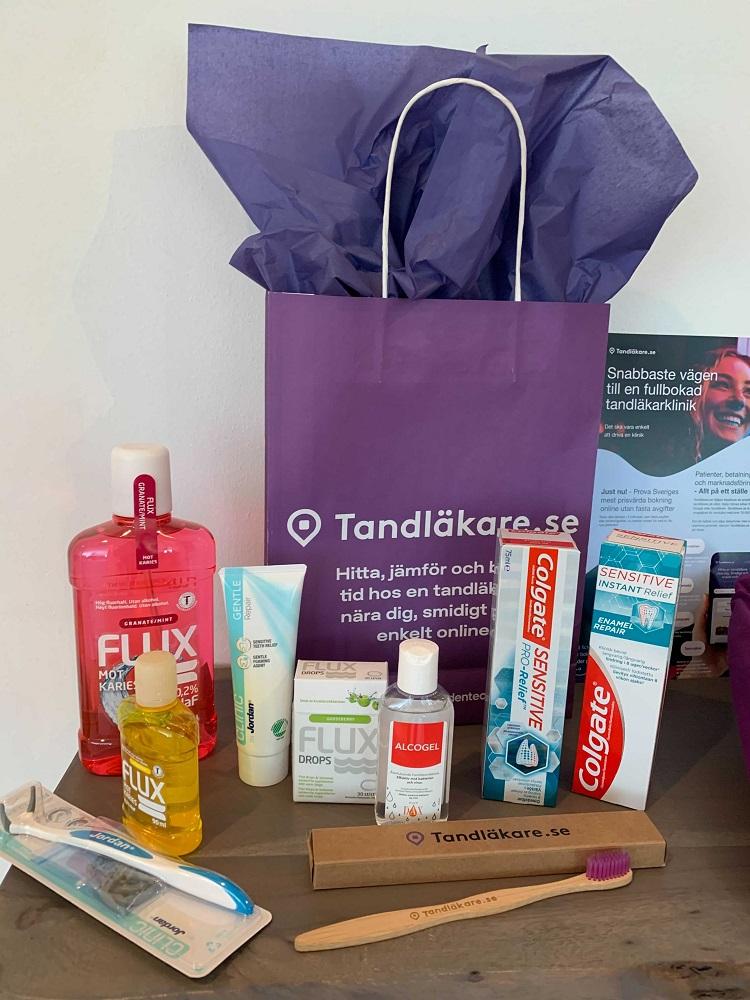Paket från Tandläkare.se
