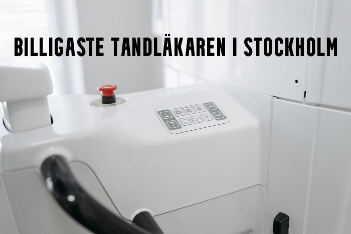 Billigaste tandläkaren Stockholm